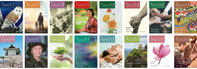 Touch magazine covers